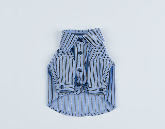 gentle shirt_ blue