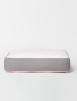 LOUIS CUSHION. PINK GRAY